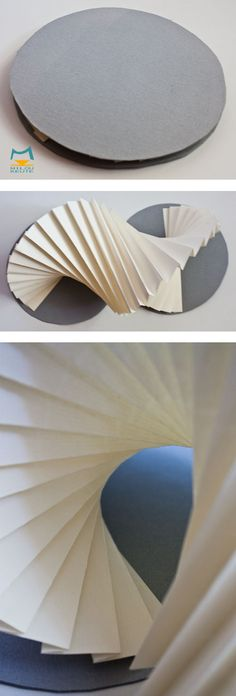 3d Paper Art, Paper Book, Origami Cards, Origami Paper, Book Folding, Paper Folding, Origami Architecture, Tunnel Book, Kirigami