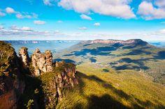 ทัวร์ออสเตรเลีย จาไมสัน วัลเล่ย์ (Jamison Valley) แหล่งท่องเที่ยวที่นิยมมาก