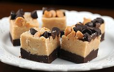 The first time I made fudge I used my mom's no fail fudge recipe…only to fail. Second time. Fail. And so I went in search of easier fudge recipes. One of the fudge recipes I love to make is peanut butter fudge…very simple and super yummy. It almost reminds me of no-bake cookies which are also yummy. Keep reading for Peanut Butter and Chocolate Fudge...