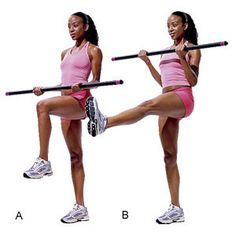Bridal Fitness On Paper Body Bar Exercises Arms