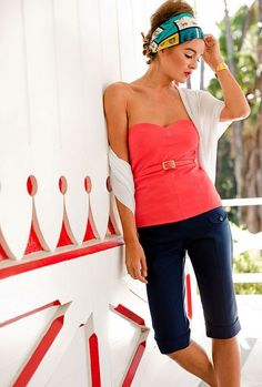 summer outfit..... Minus the headband   +++For tips + ideas on #style and #fashion,visit http://www.makeupbymisscee.com/