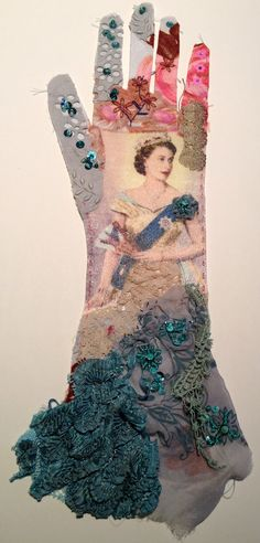 Thread and Thrift: Gloves Mandy Patullo is a fabulous fabric artist.