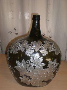 Artesanato Fozcoa: * Decantadores para vinho c/ aplicação de Estanho                                                                                                                                                                                 Mais