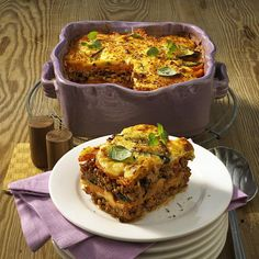 The best Zucchini and Sweet Potato Moussaka recipe you will ever find. Welcome to RecipesPlus, your premier destination for delicious and dreamy food inspiration. Sweet Potato Recipes, Veggie Recipes, Fish Recipes, Low Carb Recipes, Cooking Recipes, Veggie Food, Yummy Recipes, Lasagne Dish, Pastries