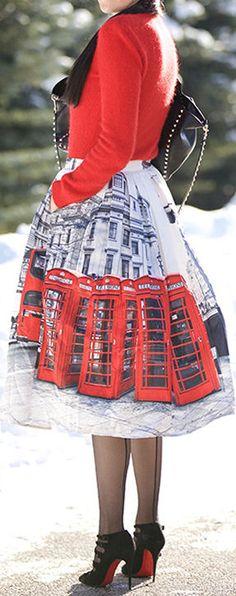 Red & Black ❤︎ #winterfashion