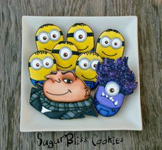SugarBliss Cookies: Despicable Me