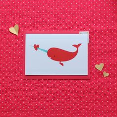 The Nimbus Factory — 'Narwhal Cupid' card