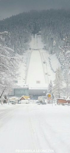 Wielka Krokiew (The Great Krokiew) is the one - the biggest - of ski jumps built on the slope of Krokiew mountain (1378 m) in Zakopane, Poland. It was opened in 1925. From 1989 the ski jump bears the official name Wielka Krokiew im. Stanisława Marusarza. It is a regular venue in the FIS Ski jumping World Cup. The capacity of the ski jumping stadium is 40,000
