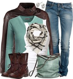 Cozy Fall Outfits Polyvore Combination 2016