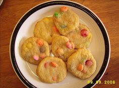 Smartie Cookies, gonna have to try this :)