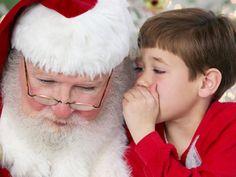 Santa whispering