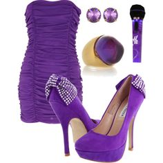 Outfit for talent show, created by preecylove on Polyvore