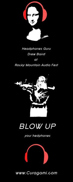 Headphones Guru Drew Baird at Rocky Mountain Audio Festival This Weekend