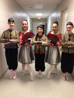Makaroff Youth Ballet Dancers Back Stage before the Big Reveal at the Fox Cities Performing Arts Center!