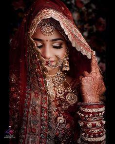 Beautiful Indian Brides | (C) Jasmine Beauty care | Photography: The Wed Capture; Vinod Gajjar Photography | Bridal makeup | Makeup artist | Indian Bride | Indian Bridal look | Bridal jewellery | Nose rings | Nath | Smokey eyes | Bridal Portrait | Bridal Photography | #wittyvows #bridal #bridalmakeup #bridallook #bridaljewelry #indianbride #makeup #makeupartist #portrait #wedding #weddingphotography #photography #smokeyeyemakeup