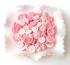 pink candy buttons