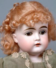 "*GORGEOUS* 22"" Kestner 147 Antique Doll Dressed as a Victorian Lady c1890-LOOK!"