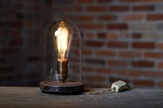 ON SALE The Original Bell Jar Table Lamp by SouthernLightsTN