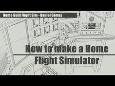 Ultimate Affordable Homebuilt DIY Flight Simulator Cockpit from SimSamurai.com - YouTube