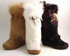 love fur boots!