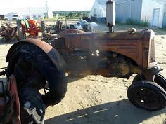 Minneapolis Moline U tractor salvaged for used parts. This unit is available at All States Ag Parts in Downing, WI. Call 877-530-1010 parts. Unit ID#: EQ-24715. The photo depicts the equipment in the condition it arrived at our salvage yard. Parts shown may or may not still be available. http://www.TractorPartsASAP.com