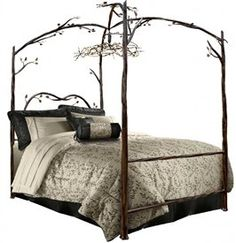 Quite possibly the most epic bed ever - Enchanted Forest Canopy