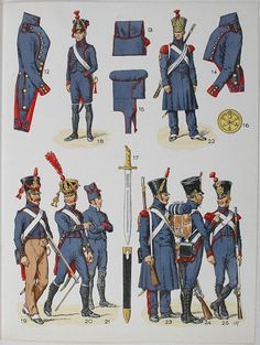 French; Foot Artillery by L.Rousselot