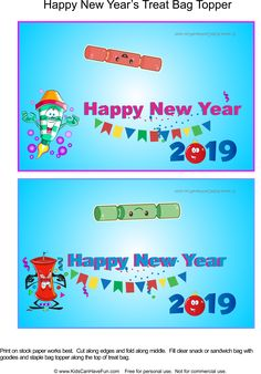 41 Best New Year S Printables Coloring Games Images Coloring