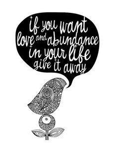 love and abundance