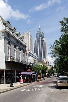 Mobile, Alabama - I did love that place! At least the rain was predictable.