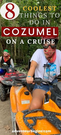 Cruising to Cozumel? Check out this insider's guide to Cozumel, Mexico! Explore 8 awesome things to do in Cozumel on a cruise! Off-road jeep tour, Chankanaab dolphin interaction, helmet diving, Mexican cooking class, salsa dance and much more! Discover the most beautiful places in Cozumel! Perfect Cozumel itinerary and travel guide #cozumel #mexico #cruise #caribbeancruise #royalcaribbean #celebritycruises #msc #carnival #princesscruises #azamara #disneycruiseline #costacruises #ncl Travel Destinations Beach, Cozumel Mexico, Salsa Dance, Jamaica Travel, Secluded Beach, Celebrity Cruises, Mexican Cooking, Best Cruise, Princess Cruises