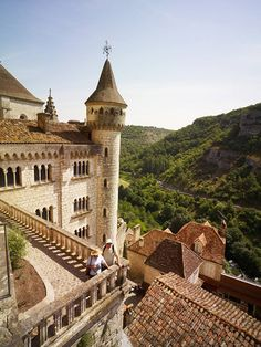Rocamadour - Région Languedoc Roussillon Midi-Pyrenees - Le village préféré des français - France 2