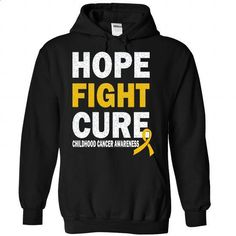 Cure - Childhood Cancer - #casual tee #tshirt bemalen. MORE INFO => https://www.sunfrog.com/LifeStyle/Cure--Childhood-Cancer-4911-Black-Hoodie.html?68278