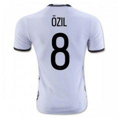 Tyskland 2016 Ozil 8 Hemmatröja Kortärmad