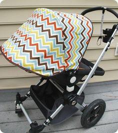 Stroller canopy DIY