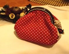 A legújabb ! Gift for Her Red Purse Polka Dot Wallet with by Mariannasboutique, $25.00
