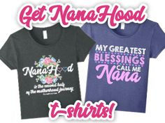 Every Nana needs her own special T-shirt, right? Visit the Nanahood store to view a variety of colors fo you or your Nana! Cheesecake Recipe With Premade Crust, Cheesecake Recipes, Homemade Cheesecake, Blueberry Bars, Blueberry Topping, Sixth Grade Reading, What Causes Stress, Mother Teresa Quotes, Be My Teacher