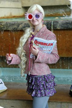 Luna Lovegood from Harry Potter and the Half-Blood Prince http://dailycosplay.com/ http://dailycosplay.com/2012/September/28b.html