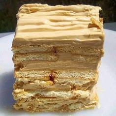 Greek Sweets, Parfait, Vanilla Cake, Tiramisu, Frozen, Breakfast, Ethnic Recipes, Desserts, Food