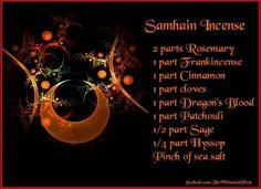 Samhain Incense