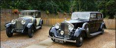 1929 Rolls-Royce Phantom I and 1939 Rolls-Royce Wraith.