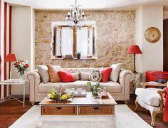 Jurnal de design interior: Amenajare rustică într-un apartament de numai 55 m²