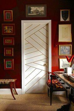 Kapılara estetik ve farklı dokunuşlar.