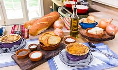 Home & Family - Cristina Cooks: French Onion Soup... when you hear someone that grew up in France say that THIS recipe is better than the best French Onion Soup he ever had, you WANT to make this recipe!!!