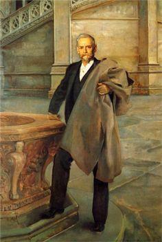 Richard Morris Hunt, 1895  John Singer Sargent