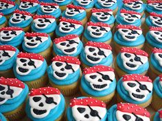 Cupcake ideas for pirate party