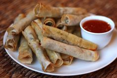 baked Filipino lumpia...this is Matt's favorite, I can't wait to try this recipe!