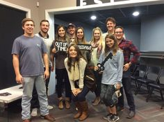 This group from the Aggie Gamma Phi Beta sorority ran out of time in Classified! Thank you for letting us host your event!