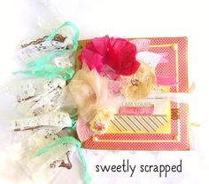 I Am Yours Always and Forever Mini Scrapbook by SweetlyScrappedArt