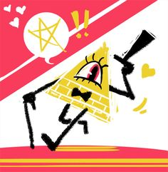 have I ever waxed lyrical about how much I love Bill Cipher's design because seriously Gravity Falls Bill Cipher, Wax Lyrical, Disney Shows, Michael Myers, Bipper, Bows, Fun, Draw, Design